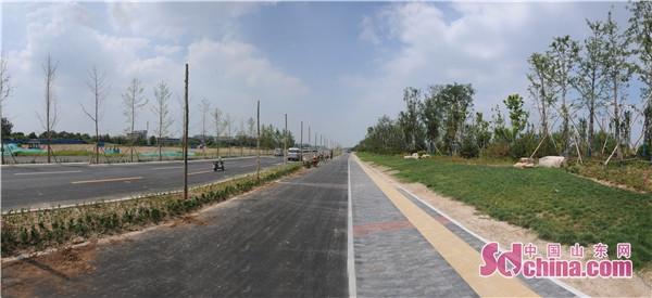 淄博高新区西五路北延工程将于7月底通车