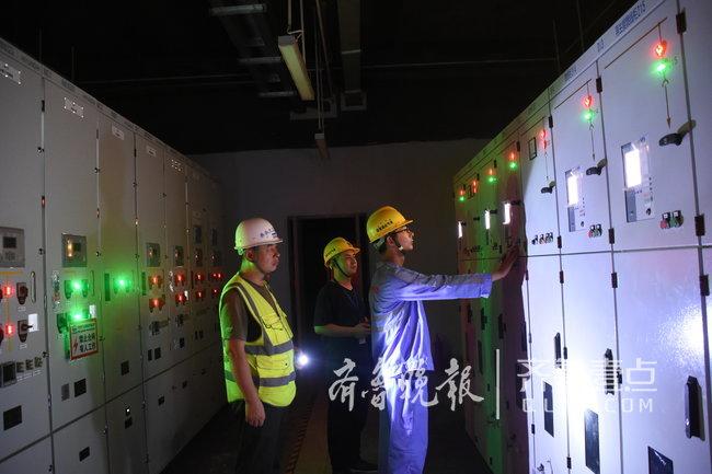 """济南轨交R1线高架段""""电通"""",进入""""热滑""""准备阶段"""