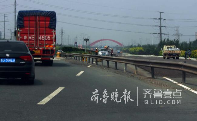济青高速正拓宽车还能跑不?记者试跑全程给您看