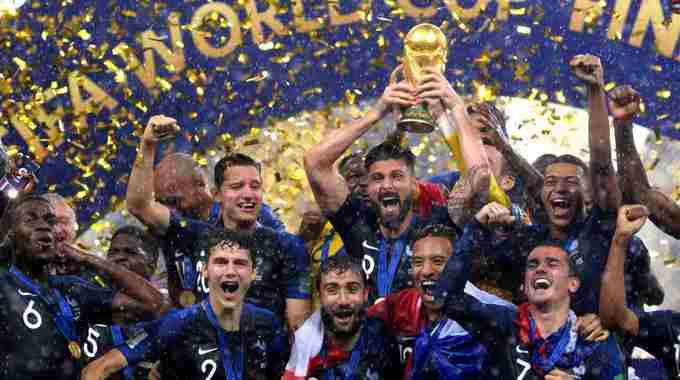 梦回1998!法国4-2克罗地亚20年后再夺冠
