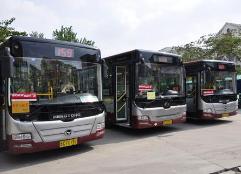 淄博中心城区公交全用新能源和清洁能源