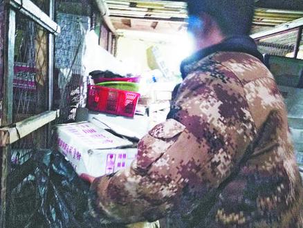 淄博水产市场商户温差近50℃ 一天进冷库20趟