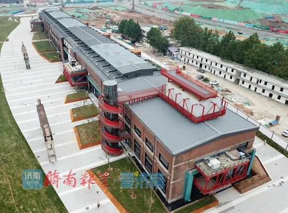 惊艳!济南二钢老厂房改造完成,变身CBD文化服务中心
