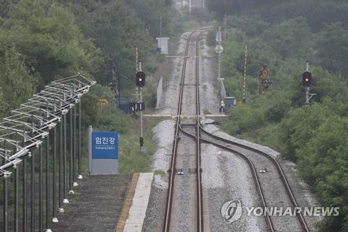 韩国统一部:韩朝商讨铁路连接项目联合考察日程-美国街头深夜因邻...图片 32575 500x333