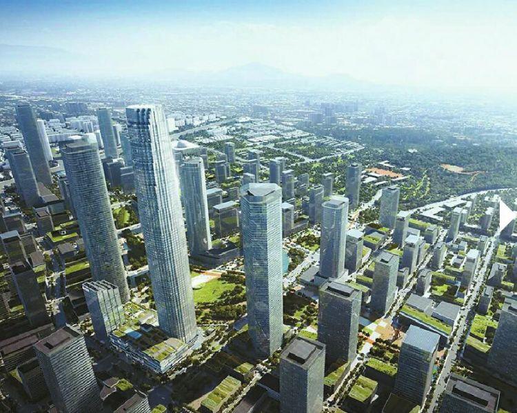 """济南中央商务区——上天入地!CBD立体""""城市综合体""""蓬勃成长中"""