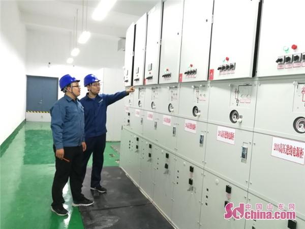 国网潍坊供电公司:全省首座济青高铁牵引变电站成功送电