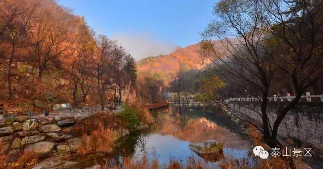 泰山南麓的避暑胜地:戏水彩石溪