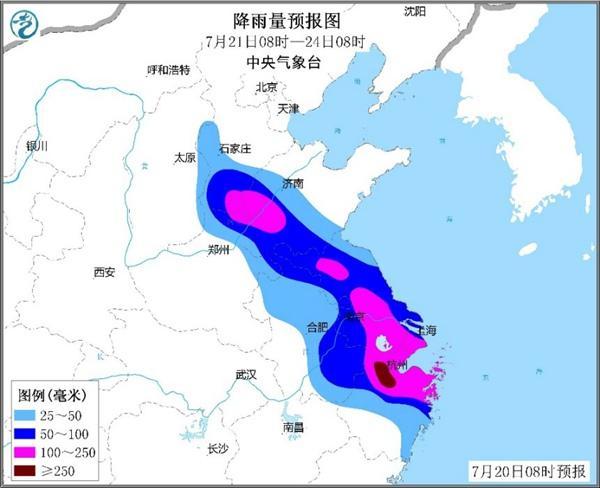 一个任性的台风正奔向山东!山东西部或迎大暴雨!