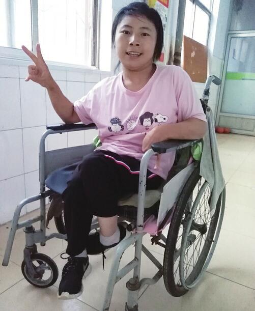 世界那么大 我想去看看 20岁脑瘫女孩杨金月梦想有台电动轮椅