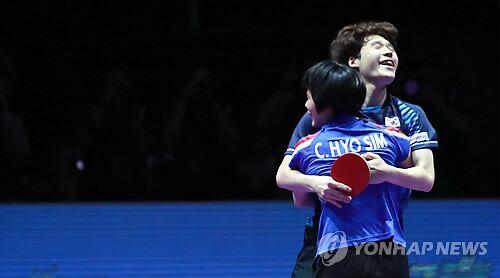 创历史!朝韩联队击败中国组合首获混双冠军