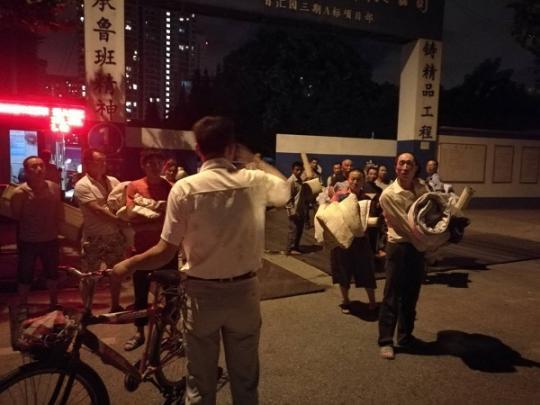 """迎战台风""""安比"""" 徐汇:近万人撤离安置"""