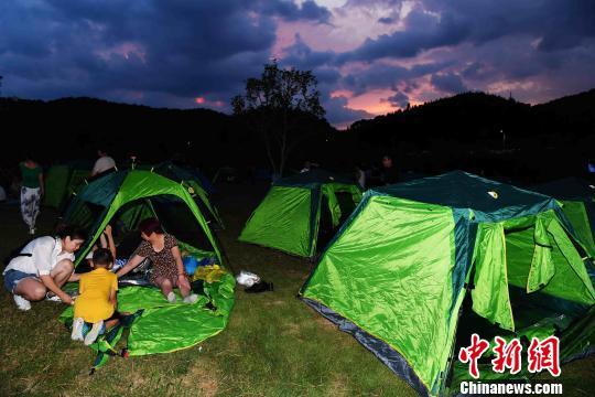 2018中国将乐国际露营大会举行