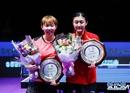 韩国公开赛落下帷幕 中国队包揽女单、女双冠亚军