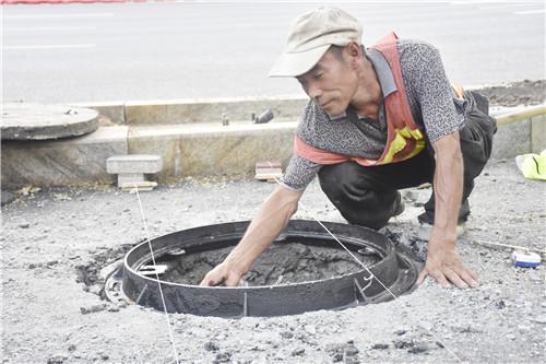 淄博市城市道路窨井盖一盖一编号一井一档案