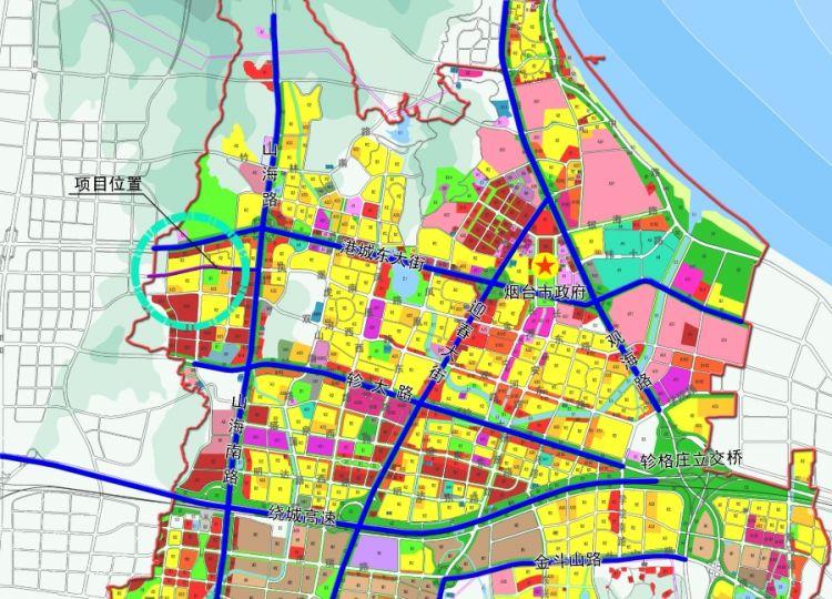 烟台莱山区凰南路西段二期道路工程《建设项目选址意见书》核发批前公示