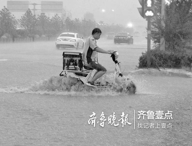 一下大雨就看海,济南市区33处易积水点今年改造11处