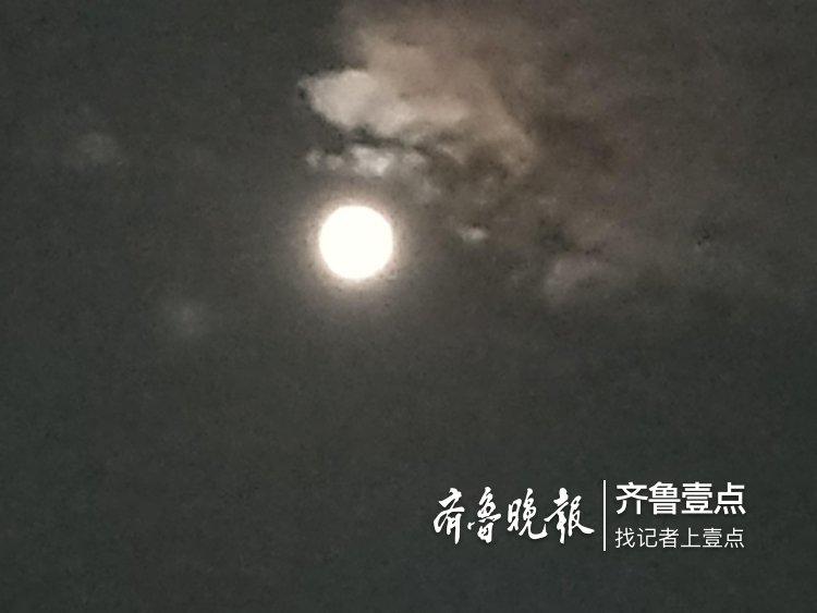 见过彩云追月吗?昨晚就发生了,看这里!