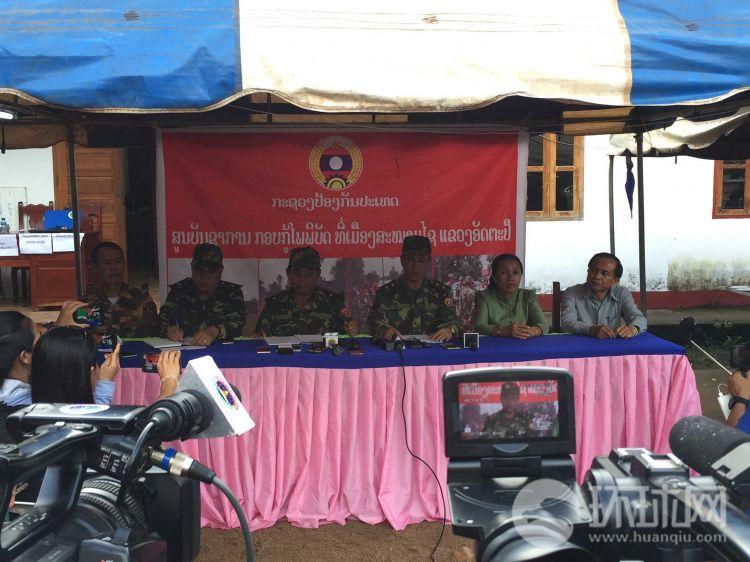 老挝人民军副总参谋长坎良:老挝溃坝灾害已致8人死亡 另有123人失踪
