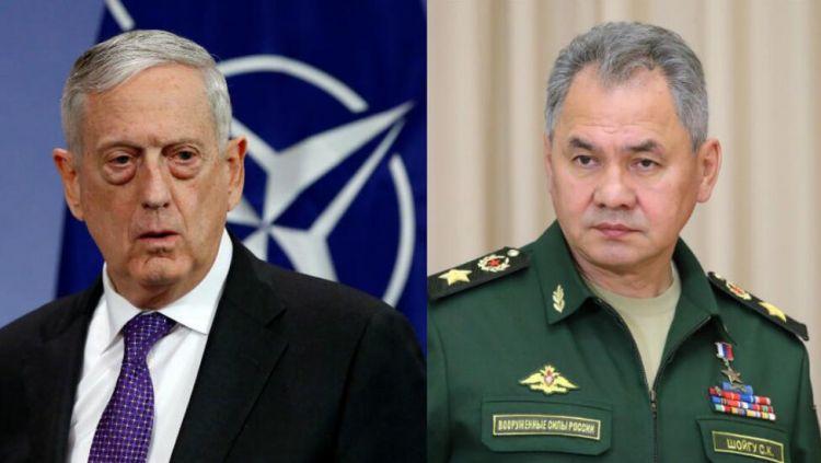 美国防长称在考虑与俄罗斯防长举行会谈