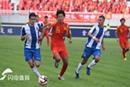 郭田雨错失单刀 中国国青0-1惜败西班牙人