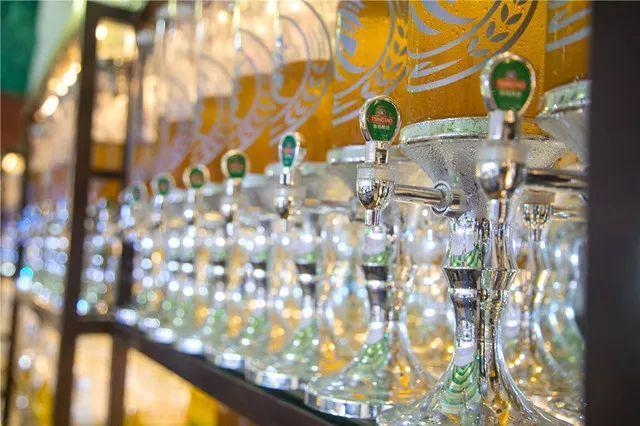 山东新闻 17城  各种品系的青岛啤酒都来了 黑啤白啤皮尔森,鸿运,逸