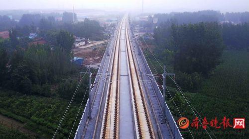 """济青高铁计划8月起联调联试 """"黄医生""""即将出场"""