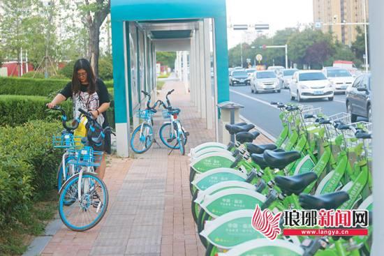 """临沂共享单车抢占近3成市场 """"小绿""""转型逆势扩张"""