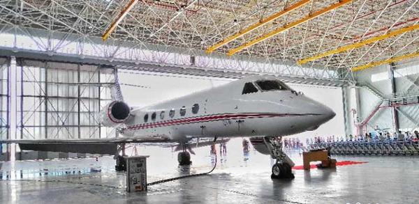 日照山太飞机工程项目正式建成启用