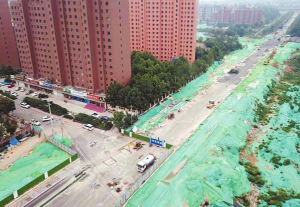济南:市区列入打通计划的28条瓶颈路全部开工