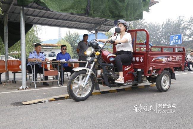 摩托车考试依旧火热,济南历城5月以来800人考