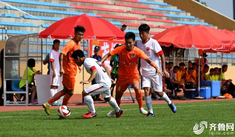 2018潍坊杯鲁能青年军爆发6-1大胜上港