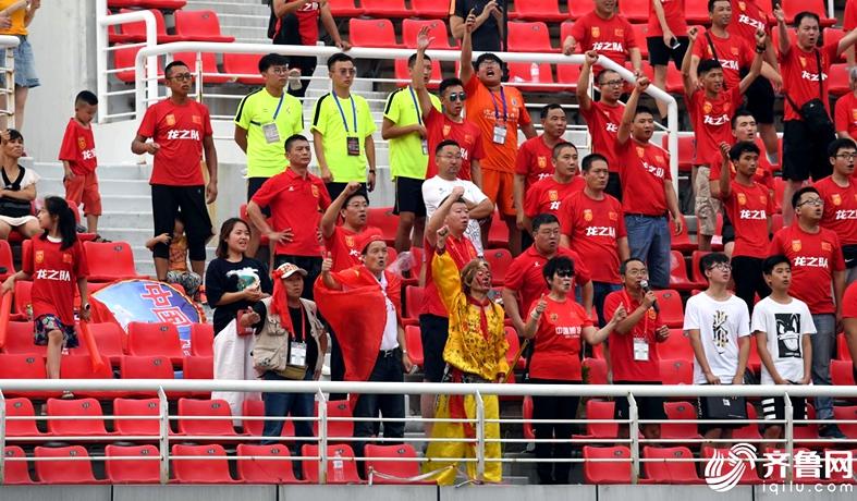2018潍坊杯揭幕战国青0-1西班牙人