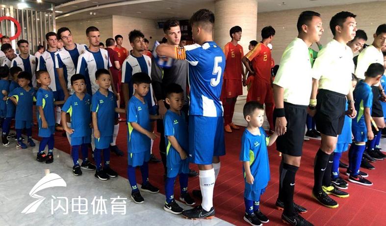 直击鲁能.潍坊杯 带你走进青年足球世界
