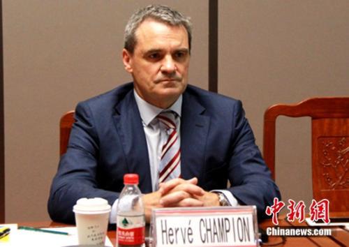 博洛雷集团(BOLLORE GROUP)战略合作与采购副总裁Herve Champion 先生