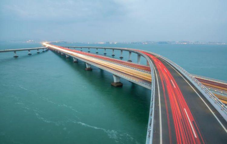 可贺!山东胶州湾大桥摘得中国公路行业最高奖