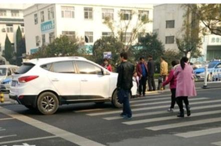 """7月份以来,聊城已有379起""""车不让人""""行为被处罚"""