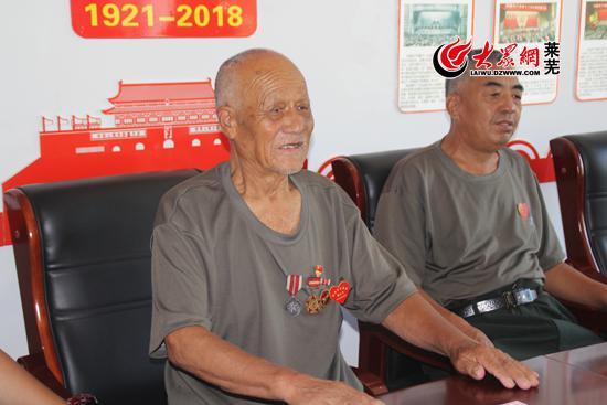90岁老兵刘金传:被战友从炮土里扒出来捡回一条命