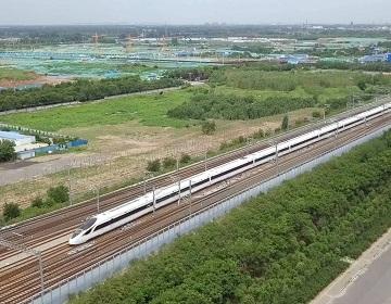 试跑!济青高铁联调联试,年底通车!青岛至北京两个半小时