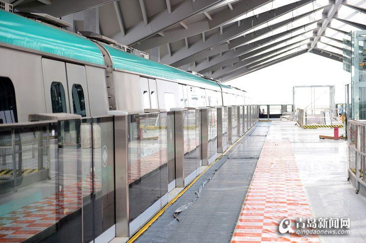 青岛地铁13号线站台门全部安装完成 将进行5000次试验