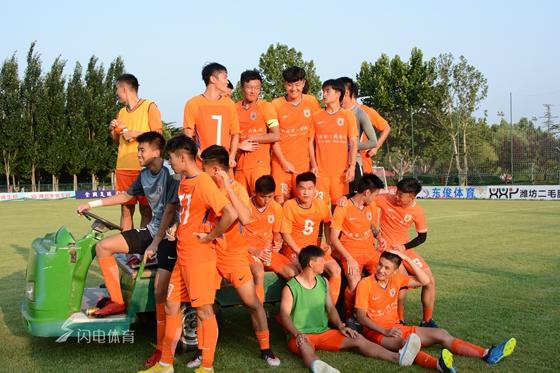 鲁能小将闪耀潍坊杯 主教练评价他只用了4个词