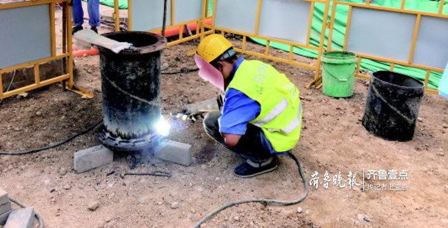 告别老化!济南王炉小区、无影山新村供水管线施工中