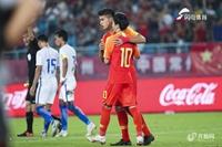 热身赛-U23国足2-1马来西亚 张玉宁点杀陈哲超世界波