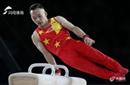 亚运会体操队选拔测验 林超攀表示将团体赛放在首位