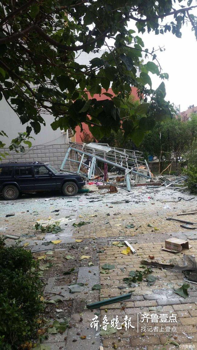 注意用气安全!东营一医药公司附近发生天然气爆炸