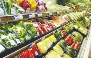 高温湿热淄博菜价浮动 超市相对稳定