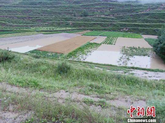 青海省多地出现大暴雨 部分地区受灾严重