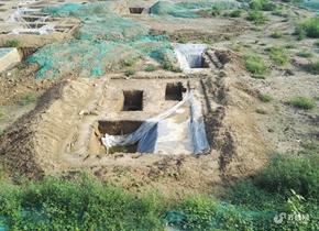 北京奥体中心南侧现大型墓葬群 初步推测为清代