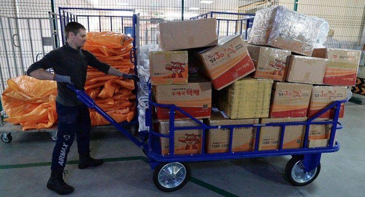 俄邮政:俄上半年所收国际邮包中的84%来自中国
