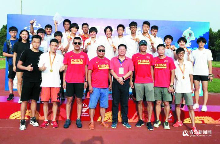 青岛现代五项队首战省运会 收获3金1银3铜列双榜第一