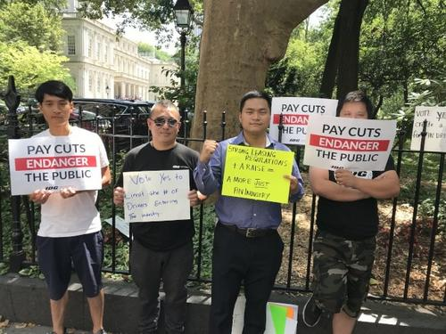 纽约独立司机工会为华人司机谋福利 助争取权益